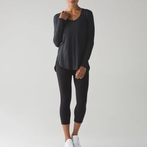 Lululemon love scoop long sleeve tee